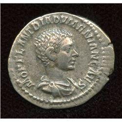 Diadumenian, as Caesar. 217-218 AD. AR Denarius