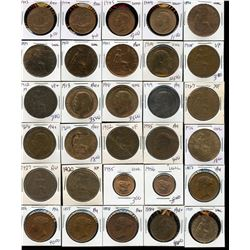 Quality Copper - Lot of 60 British Coins
