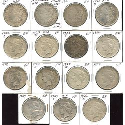 United States Silver Dollar Lot