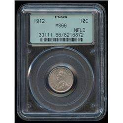 1912 Newfoundland Ten Cents