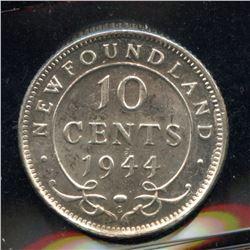 1944c Newfoundland Ten Cents