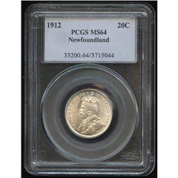 1912 Newfoundland Twenty Cents