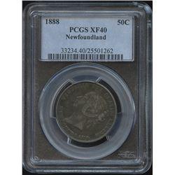 1888 Newfoundland Fifty Cents
