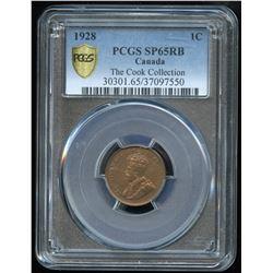 1928 One Cent - Specimen