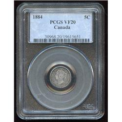 1884 Five Cents