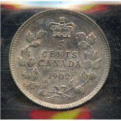 1902 Five Cents