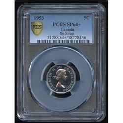 1953 Five Cents - Specimen