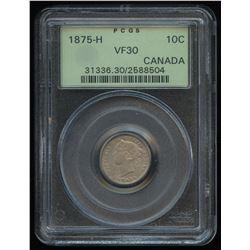 1875H Ten Cents