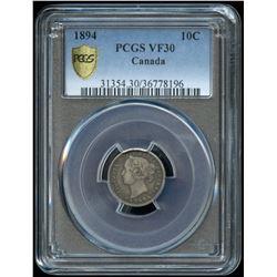 1894 Ten Cents