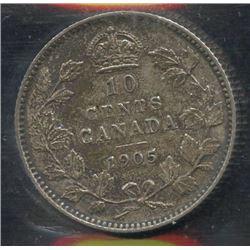 1905 Ten Cents