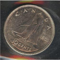 1953 Ten Cents