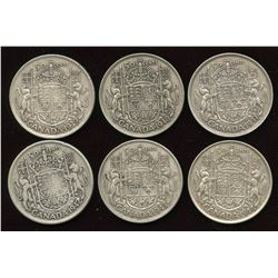 Fifty Cents - Lot of 6