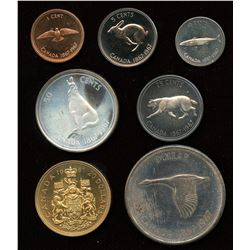 Canada Specimen Set with Gold, 1967