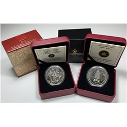 2013 Devil's Brigade $5 & Limited Edition Proof Silver Dollar - Seven Years War