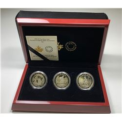 2015 $5 Cornelius Krieghoff 200th Anniversary Set of Three