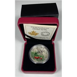 2015 $20 Canada FORESTS OF CANADA - COLUMBIAN YEW TREE FINE SILVER (NO TAX)