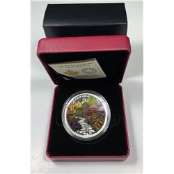 2017 $30 Canada GATE TO ENCHANTED GARDEN FINE SILVER (NO TAX)