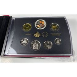 2018 Canada CAPTAIN COOK AT NOOTKA SOUND SPECIAL EDITION SILVER DOLLAR PROOF SET