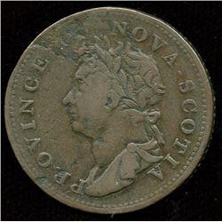 Br. 867, Co. 257.  Rare 1823 thistle.