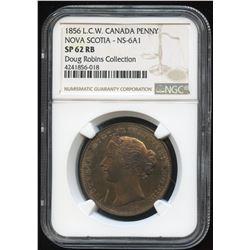 Br. 875. 1856 Nova Scotia, Penny.