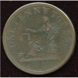 Br. 958,  Co. 35.  Tiffin Penny.