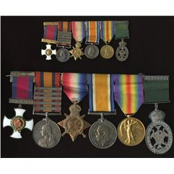DSO, South Africa Medal, etc. - Group of 6 to recipient C.C. Corbishley