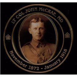 Lt. Col John McCrae, Anniversary of In Flanders Fields