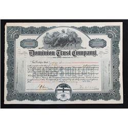 Dominion Trust Company