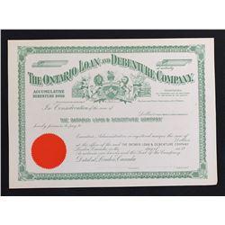 The Ontario Loan and Debenture Company