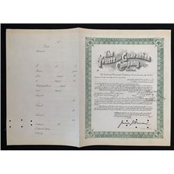 The Trusts and Guarantee Company Ltd.