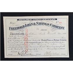 Freehold Loan & Savings Company, Toronto