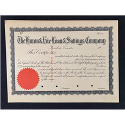 The Huron & Erie Loan & Savings Company