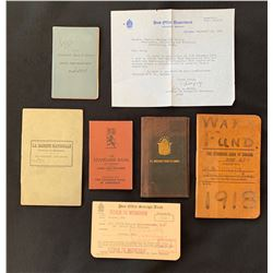 Selection of Bank Pass Books: