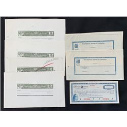 Royal Bank of Canada, US Dollar Personal Money Order, proof