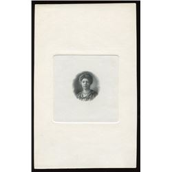 Dominion of Canada, die proof vignette, Lady Grey