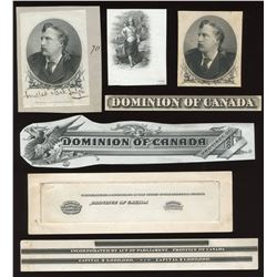 Dominion of Canada, die proof vignette, Marquis of Lorne.