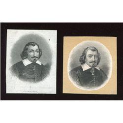 La Banque d'Hochelaga,Portrait of Champlain