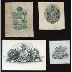 Die Proof Vignettes:Crests.