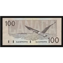 1988 Bank of Canada $100 - Radar