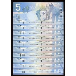 Interesting Numbers - Banknote Collection