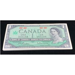Bank of Canada $1, 1967, 47 Note Half Bundle.