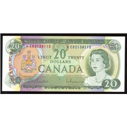 Bank of Canada $20, 1969 Replacement