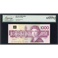 Bank of Canada $1000, 1988
