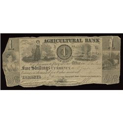 Agricultural Bank $1, 1836