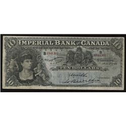 Imperial Bank of Canada $10, 1910