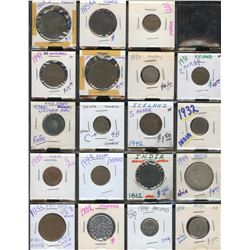 World Coins - Lot of 141 Coins - Part 1