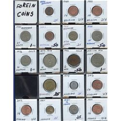 World Coins - Lot of 300 Coins - Part 5
