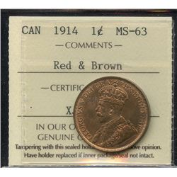 1914 One Cent