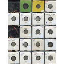 Canada Five Cents Collection