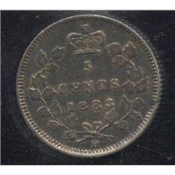 1883H Five Cents